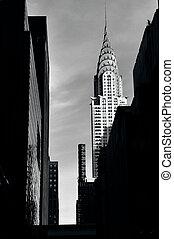 Chrysler building in Manhattan New York