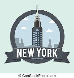 chrysler building newyork banner