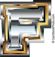chrzcielnica, fantazja, litera f