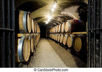 Ch?teau de Cary Potet (wine cellar), Buxy, Burgundy, France