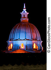 Chuch Dome at Night
