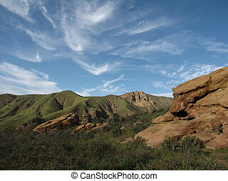 Chumash Trail Geology 2 - Geology on the Chumash Trail, Simi...