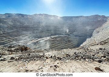 Chuquicamata Mine View