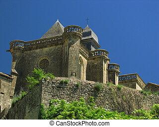 Church and Castle Of Biron, Perigord