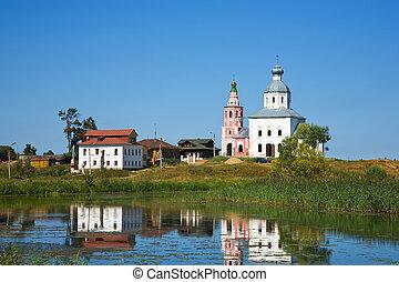 church and river at Suzdal