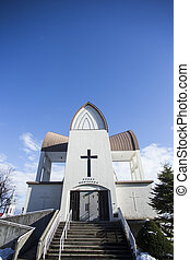 Church at Hakodate. Hokkaido north of Japan