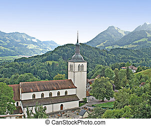 church at Switzerland
