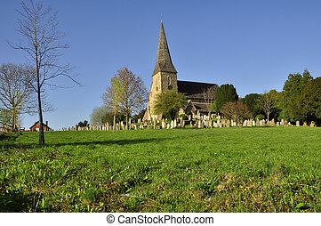 Church at Wisborough, E. Sussex