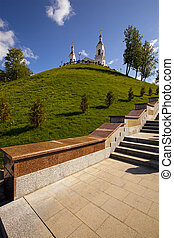 church (Belarus) - the church which is in the territory of the city of Vitebsk, Belarus