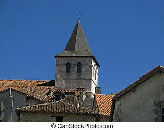 Church, bell tower
