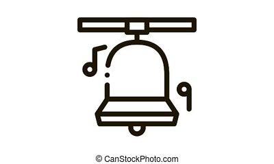 church bells Icon Animation