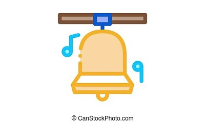 church bells Icon Animation