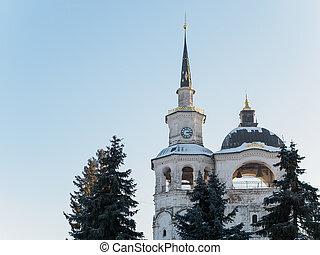 Church bells tower