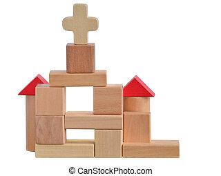 Church blocks toy