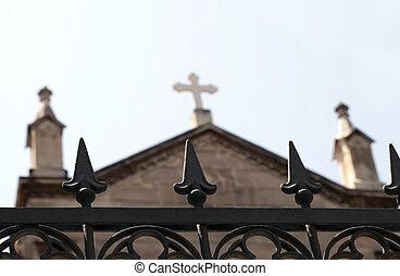 Church Building Christ Religion Concept