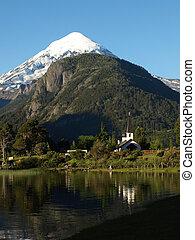 church by the lake