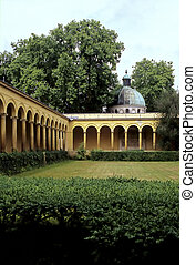 Church courtyard- Potsdam, Germany