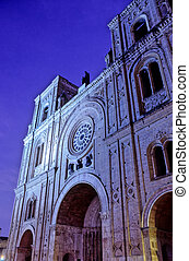 Church- Cuenca, Ecuador - Cathedral of the Immaculate...