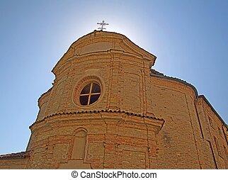 Church - Detail of fa?ade of an old church