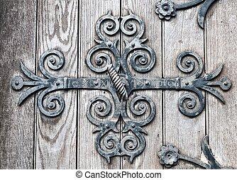 Church Door Detal