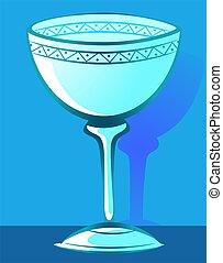 Church - Illustration of bowl using for baptism