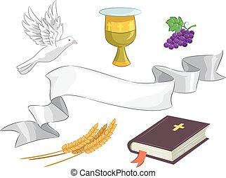 Church Elements Illustration