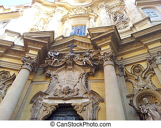 Church Entry in Rome