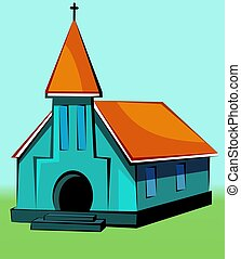 Church - Illustration of a church