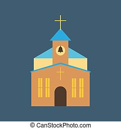 Church illustration vector