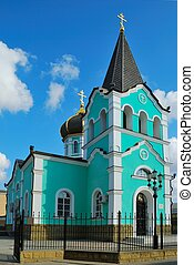 Russian christian church in the south of Russia