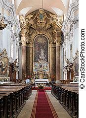Church in a Gothic-style Roman Catholic church in Cluj-Napoca