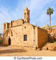 Church in Ayia Napa in Cyprus - Ancient greek orthodox ...