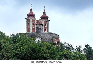 Church in Banska Stiavnica (Slovakia) - Old church in Banska...