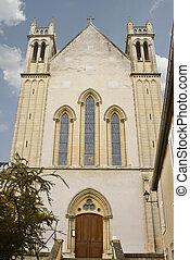 Church in Bayeux. Normandy, France