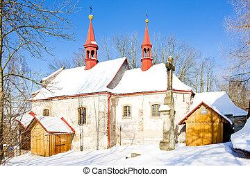 church in Bela, Czech Republic