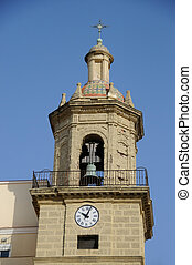church in Cadiz, southern Spain