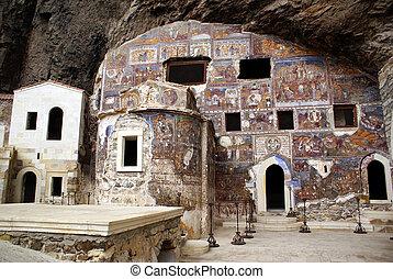 Church in cave