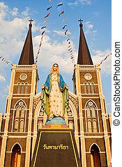 Church in Chantaburi , Thailand