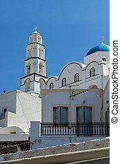 Church in Cyclades Islands