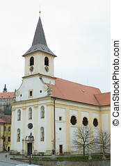 Church in Czech Republic - Namest nad Oslavou