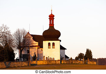church in Dobruska, Czech Republic