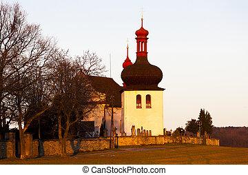 church in Dobruska, Czech Republic
