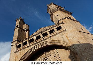 Church in Elciego, Alava, Spain