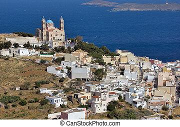 Church in Ermoupoli, Syros Island