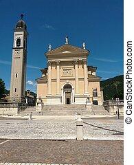 Church in Gussago, Italy