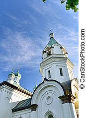 Church in Hakodate, Hokkaido, Japan.