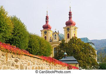 Church in Hejnice, Czech Republic