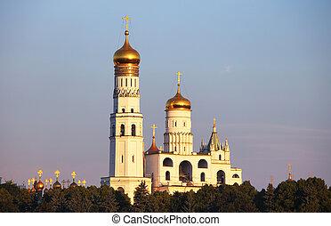 Church in Kremlin - Moscow, Russia.