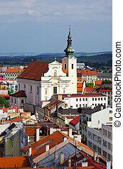 Church in Kromeriz, Czech Republic