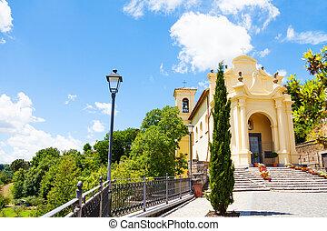 Church in Lubriano